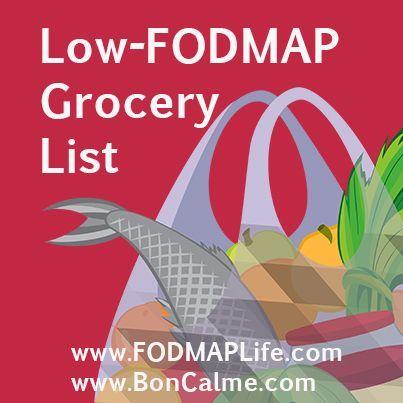 Low FODMAP special and regular groceries