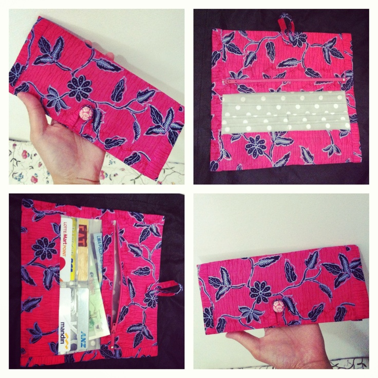 Flat wallet, Japanese style By Zenia