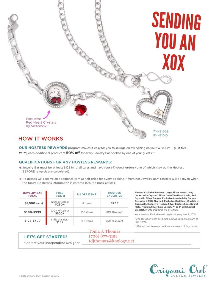 Origami Owl Hostess Exclusive For March 2015