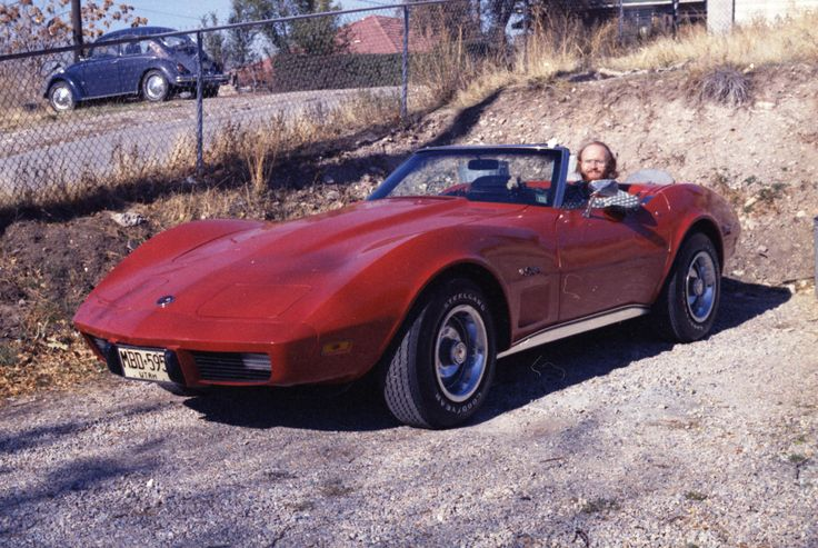 Car 38 - 1975 Corvette purchased 11-10-75 - Our first Corvette -  Newly married, laid off, what better thing to do than buy a near-new Corvette to enjoy our unemployment!