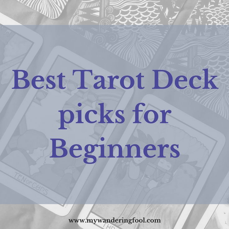 These decks are the best tarot decks (in my opinion) to show to any person looking to learn tarot. I show my pics, and explain why: