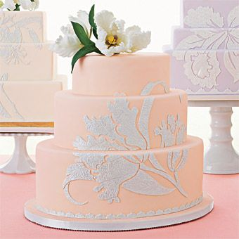 Wedding Cake Shapes- round,oval, square, rectangle (click to see more wedding cake ideas)