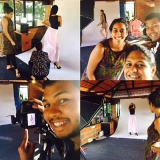 Behind the scenes @ikkivi