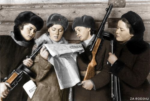 Russian woman soldiers | Flickr - Photo Sharing!