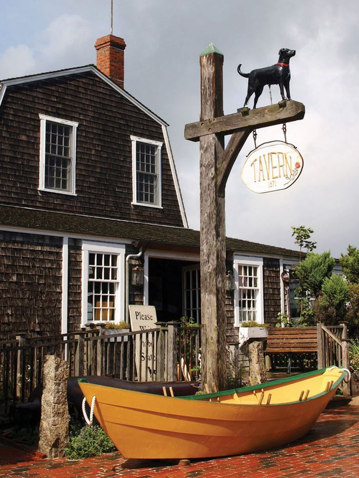 The Black Dog Tavern on Martha's Vineyard - When you move to a town that doesn't…