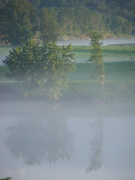 Beautiful Saint John River - Fredericton, New Brunswick