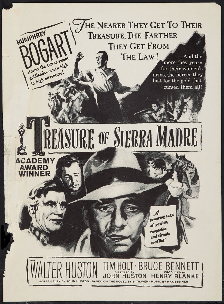A review of the movie treasure of the sierra madres