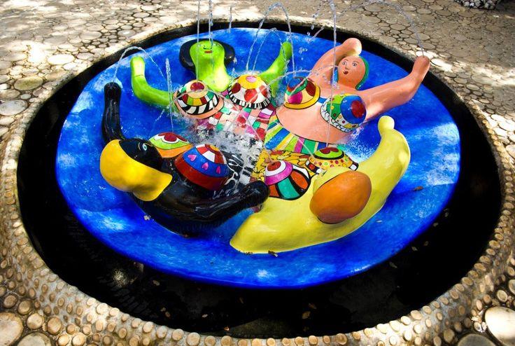 The Garden of Tarocchi, Niki de Saint Phalle, Tuscany, Italy blog.topitalytrav... #beuatifulgardens #wonderfulplaces #specialplaces #bestofItaly