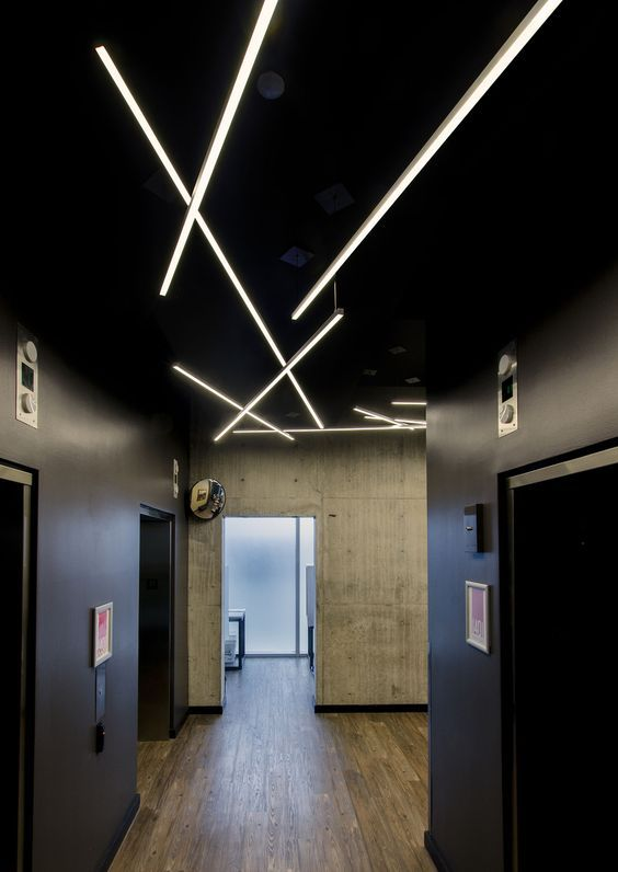 Cirrus Suspension Direct Flat Linear Lens With 100 Degree Beam Spread LED  Lighting   By Edge Lighting