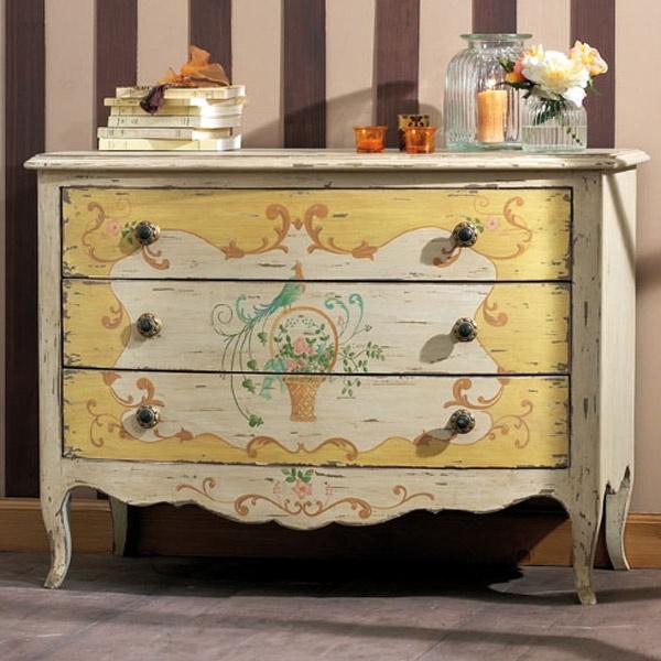 Grande commode 3 tiroirs - Collection Florentin - Copyright Interior's France