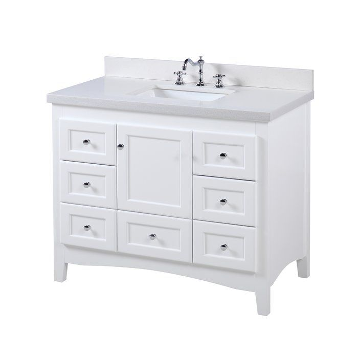 Farlend 42 Single Bathroom Vanity Set Single Bathroom Vanity Bathroom Vanity Kitchen Bath Collection