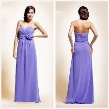 purple bridemaids dress