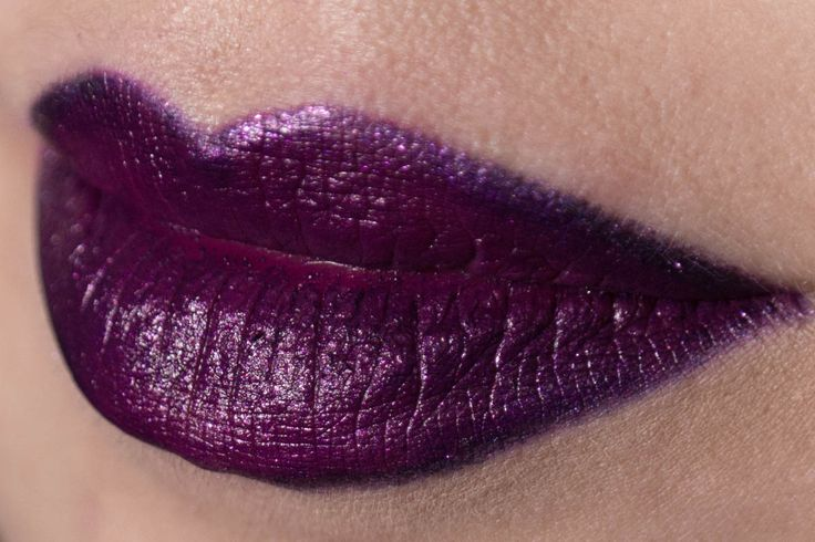LIME CRIME Poisonberry Lipstick ||| Review & Swatches: http://www.magi-mania.de/lila-lippenstift-lime-crime-poisonberry/ |||SHOP LIME CRIME: http://amzn.to/29ZJm00