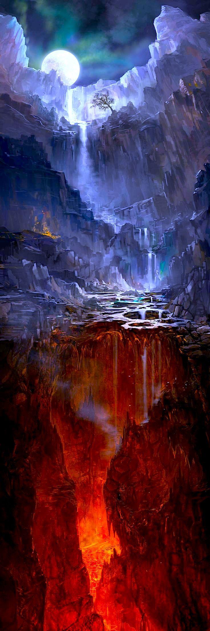 best foto images on pinterest concept art fantasy landscape