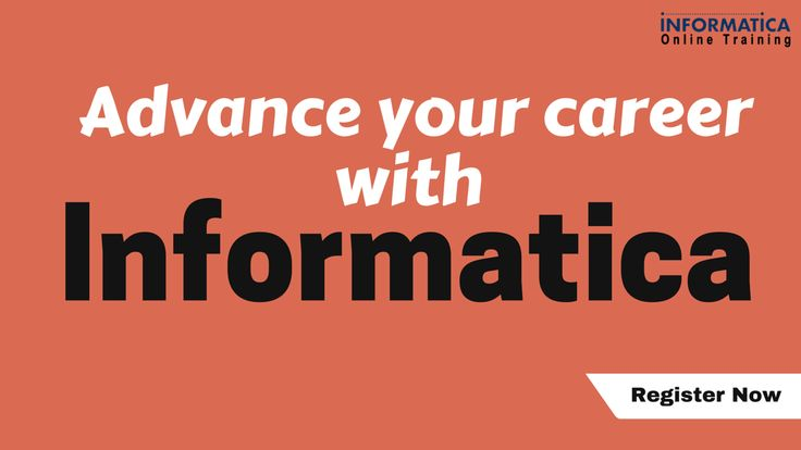 launch your career with #informatica, register for free live - career live
