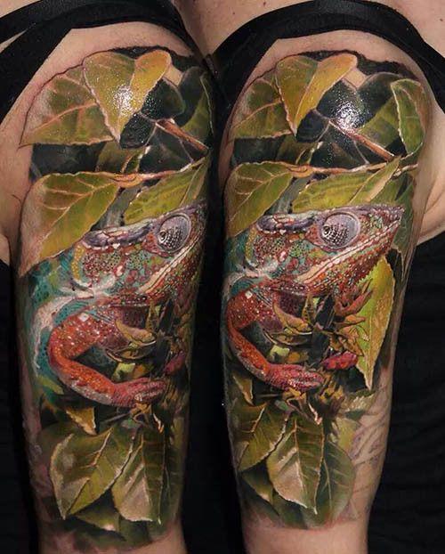 Chameleon Small Tattoo: Top 25 Ideas About Chameleon Tattoo On Pinterest
