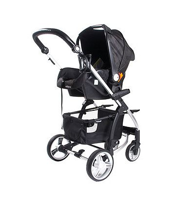 Suitable from birth to four years (15kg), the My Babiie MB109+ Full Travel System is ideal for stylish new parents everywhere. Includes a Pushchair, Carry Cot and Car Seat.