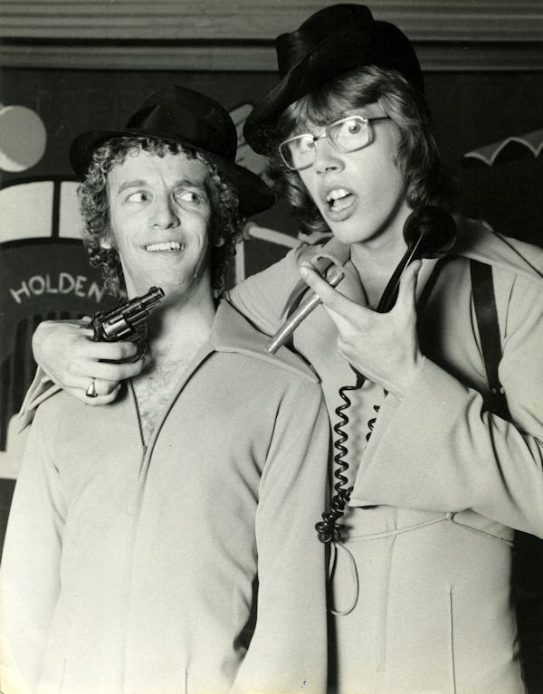 Greg Bepper - Late Night Theatre Revue 1976 with James Steele