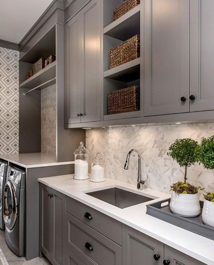 Laundry Room Mudroom Laundry Room Grey Laundry Rooms White Laundry Rooms