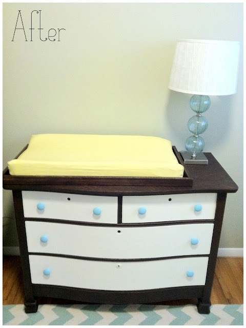 Baby Chic Changing Table & Dresser