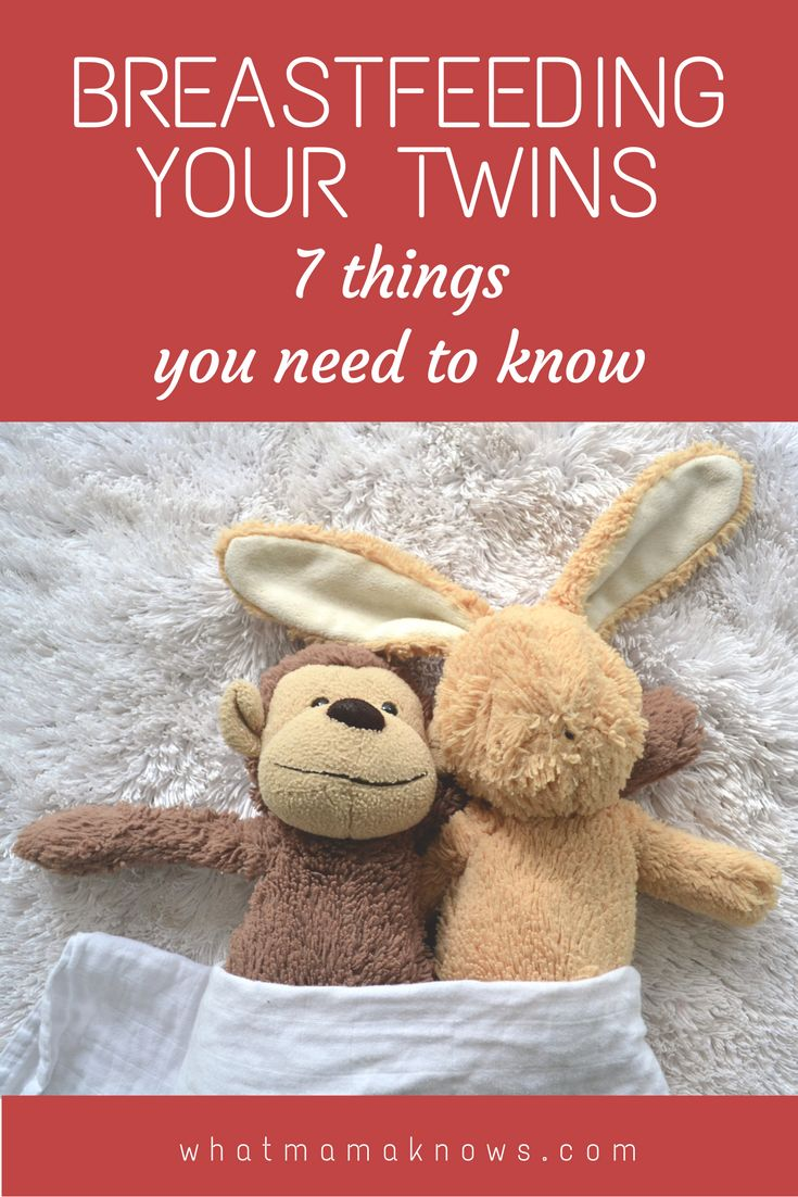 Breastfeeding twins - 7 things you need to know. Some important practicalities and encouragement for anyone pregnant with twins and planning to breastfeed twins.