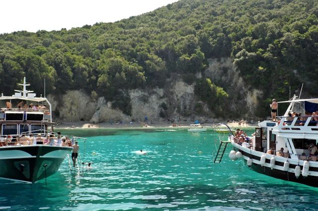 Corfu's Blue Lagoon