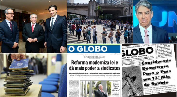 Sobre a reforma trabalhista Fonte: Jornal Nacional compara mercado de trabalho dos EUA com o do Brasil. Veja na ponta do lápis como a Globo está te enganando – Viomundo – O que você não…