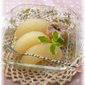 Compote ラム香る*梨のコンポート by ゆみ'sカフェ http://cookpad.com/recipe/932162#share_other