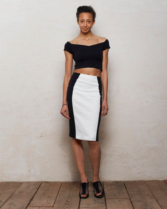 two skirt and shoulder crop top set in