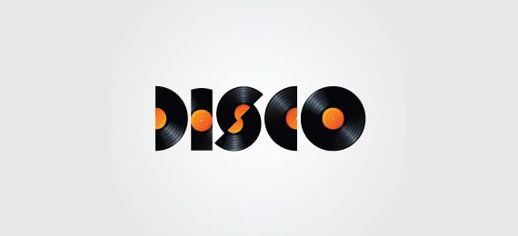 Disco Timeless and Classic Logo Design