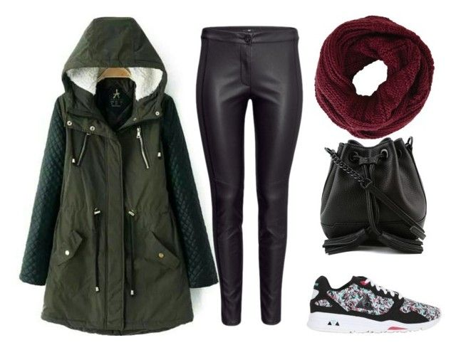 """""""#yahoraquemepongo"""" by ssolfernandezz ❤ liked on Polyvore featuring Le Coq Sportif, Rebecca Minkoff and BCBGMAXAZRIA"""