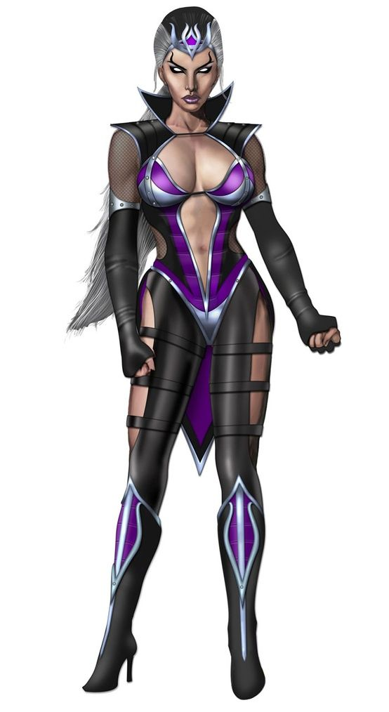 Mortal kombat sindel costume