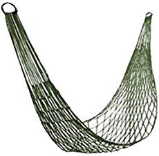 A DIY paracord hammock chair can be used to sleep or rest on when you have camped out and don't like the idea of using a tent. Another fun paracord project.