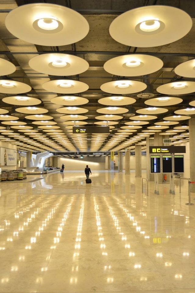 Aeropuerto de Barajas. Madrid-España