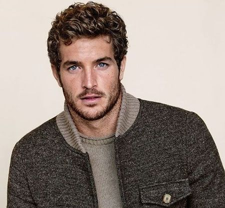 Mens Curly Hairstyles 2014