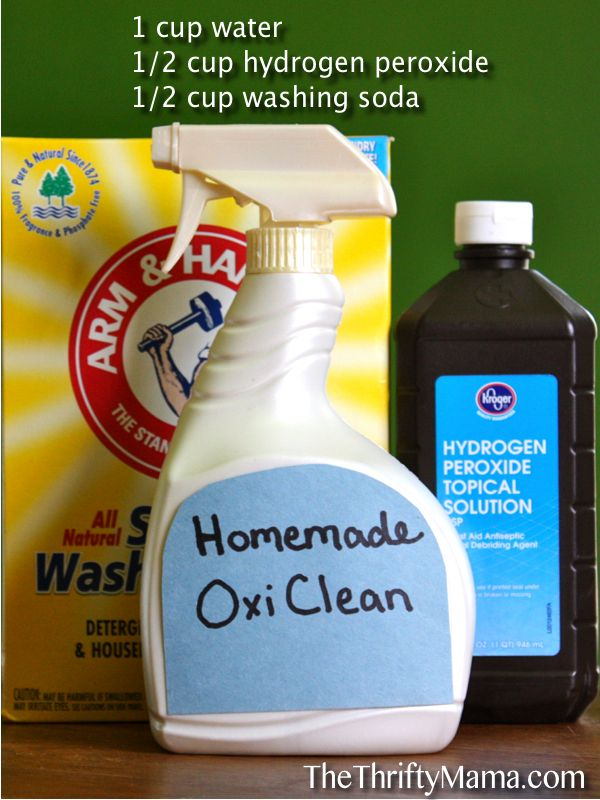 laundry stains ecofriendly remedies like allpurpose homemade oxiclean and laundry