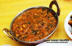 Sai Bhaji Recipe is the famous Sindhi Recipe made with Spinach / Palak, Chana Dal and Spices. Sindhi people enjoy this vegetable with Bhuga Chawal (Rice).
