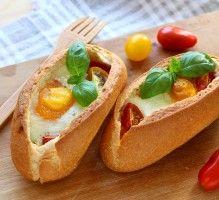 Recette - Egg boat ou Oeuf cocotte cuit dans un pain - Notée 4.4/5 par les internautes