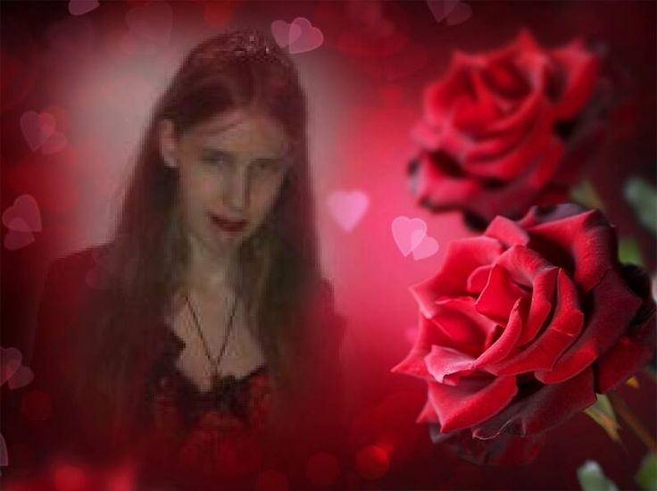 this has a romantic look I edited this with an app on my android tab