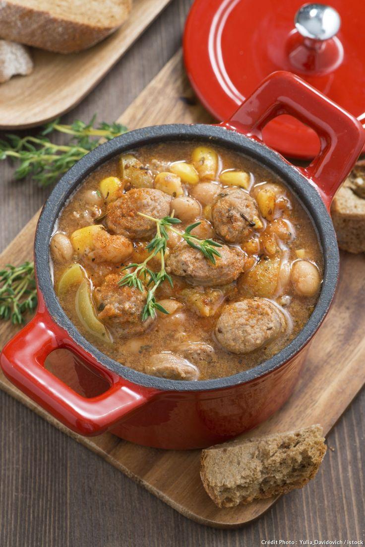 Pour une version tunisienne du ragoût de mouton, remplacez les haricots par des lentilles, et votre bouquet garni par de la coriandre, du cumin et un peu de harissa !