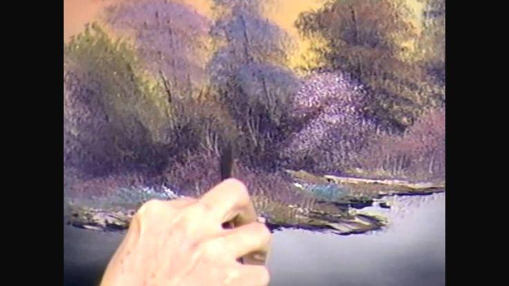 bob ross instructional video