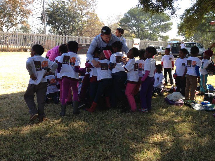 Group hug! Sports Week 2014