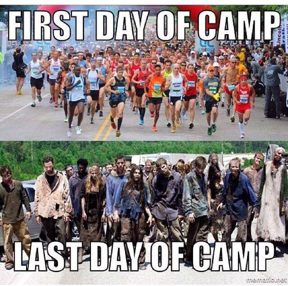 Summer is upon us! Whether you're headed to church camp or you've been there in the past, you've probably experienced most, if not all, of these moments. Laugh with us for another round of memes!           What has been your most embarrassing church camp experience? Comment below!