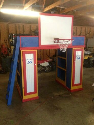 basketball room kid beds bed ideas bedroom ideas loft beds thunder
