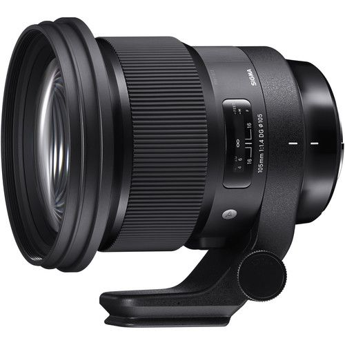 Sigma 105mm F1.4 DG HSM Art Lens Announced  Sigma has just announced the new Sigma 105mm F1.4 DG Art lens for Canon EF Nikon F Sigma SA and Sony E mounts. It is the longest F1.4 lens in the Art series to date comprising 17 elements in 12 groups featuring dust- and splash-resistant an Arca-Swiss tripod collarto deliver unsurpassed F1.4 performance and exceptional peripheral brightness. The price is now released yet but it is already listed at B&H.  The Bokeh Master with Longest Focal Length…