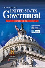 Holt McDougal United States Government: Principles in Practice ? 2010