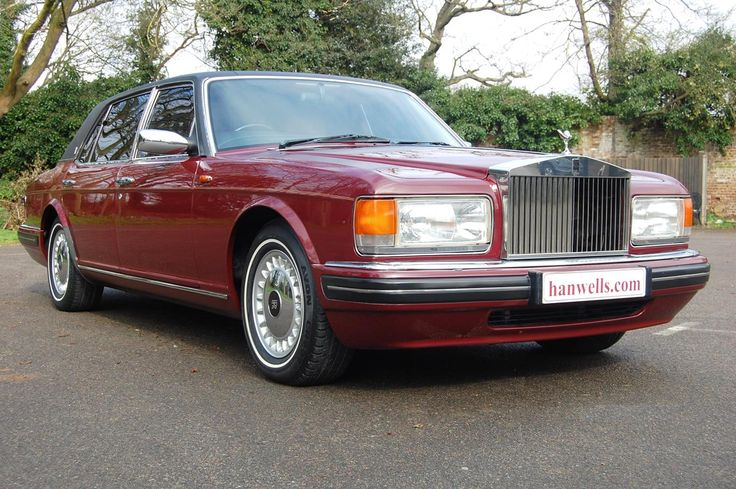 1996 N Rolls Royce Silver Spur. Finished in Oporto with a traditional Black Everflex roof, as ordered by Lord Hanson who originally owned it. Only 32,000 miles with Full Service History. Immaculate condition throughout and must be seen £26.950 Full Details & More Images: http://hanwells.net/rolls-royce-select/rolls-royce-silver-spur/1996-n-rolls-royce-silver-spur-in-oporto-26-950