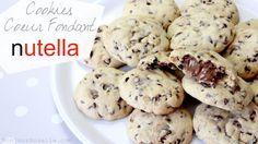 Recette : Comment faire des Cookies Coeur Fondant Nutella ? Facile / Pâtisserie pour les nuls | BonjourAnaelle.Com