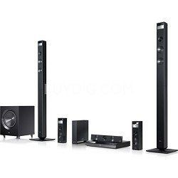 LG BH9420PW 1080W 3D Blu-ray Home Theater System with Smart TV, Wireless Rear Speakers and Tall Front Speakers by LG. $699.00. THE EXTREME IN HOME THEATER IS HERE WITH THE BH9420 3D BLU-RAY HOME THEATER SYSTEM.  It's more than Full HD Blu-ray picture quality and LG Smart TV.  It's a  sound system that takes you into the next dimension with 3D Surround Sound.  Hear it for yourself!     KEY TECHNOLOGIES     UNLIMITED ENTERTAINMENT WITH LG SMART TV ACCESS What goo...