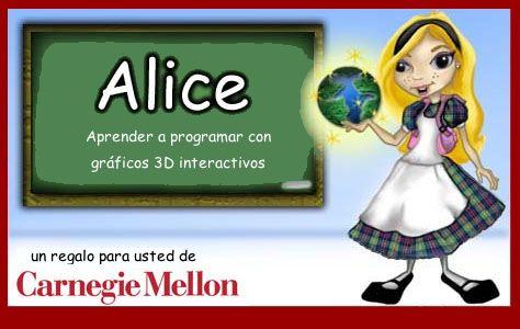 Alice Spanish Splash Screen